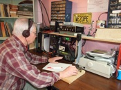 Amateur and ham radio station operator.