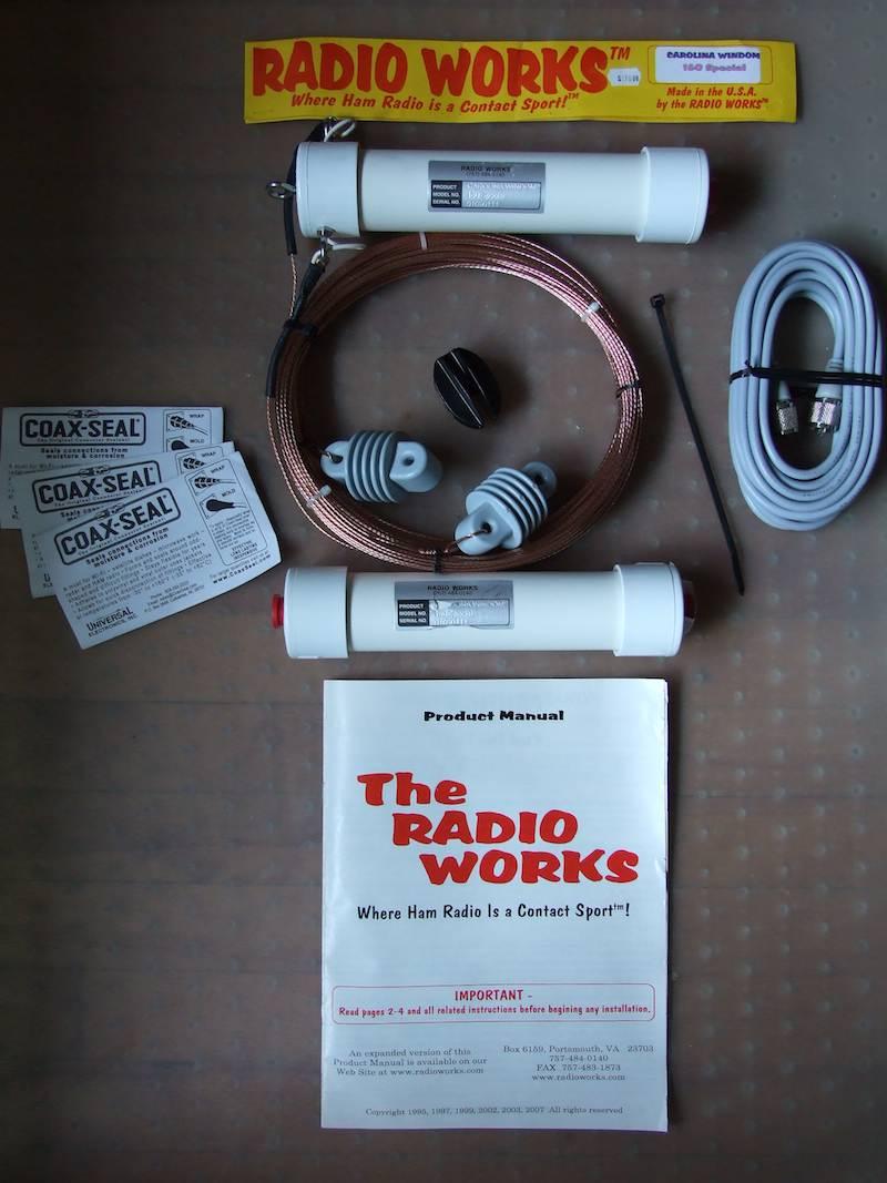 Carolina windom amateur radio antenna