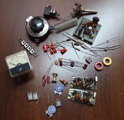 Ham radio kits parts