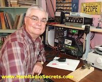 VE2DPE on ham radio frequencies.