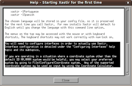 Xastir ham radio software help on configuration.