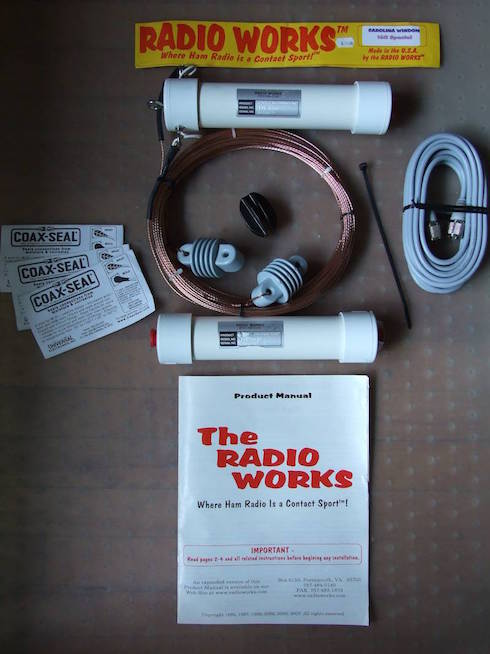Carolina Windom 160 Special by Radio Works - The Components