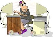 Ham radio cartoons. Hamlib and SDR programmer.