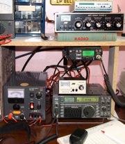 Ham radio equipment of VE2DPE