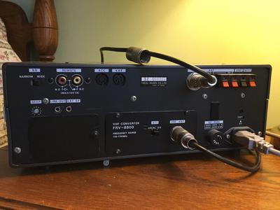 FRG-8800 back panel