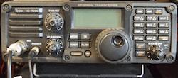 ICOM ham radio XCVR IC-7200