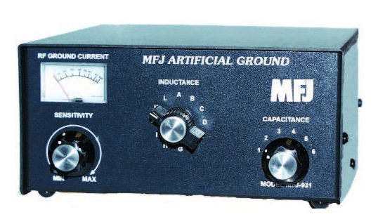 MFJ-931 Artificial ground - tuned counterpoise.