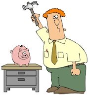 Ham radio cartoons. Raising funds for your next rig.