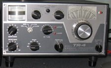 The Drake TR-4. My first transceiver as a ham radio operator.
