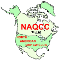 North American QRP CW Club - NAQCC Logo
