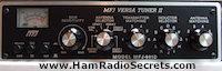 Transmatch - ham radio antenna tuner by MFJ.